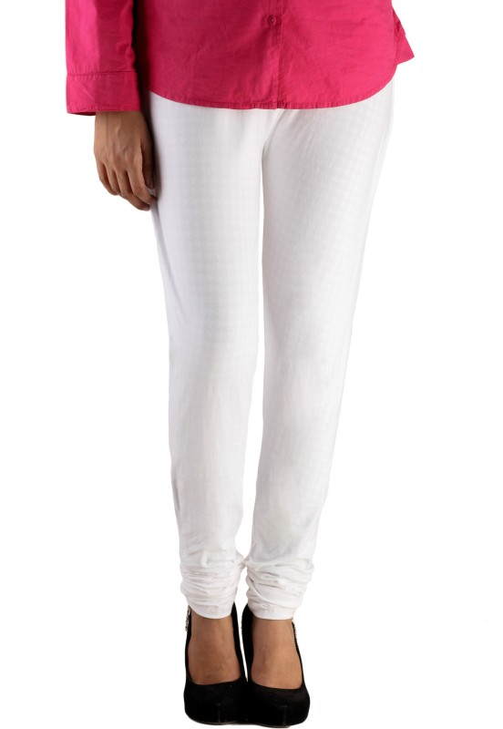 Lady in Red Legging(White, Solid)