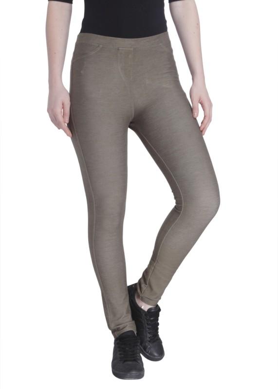 Vero Moda Women's Brown Jeggings