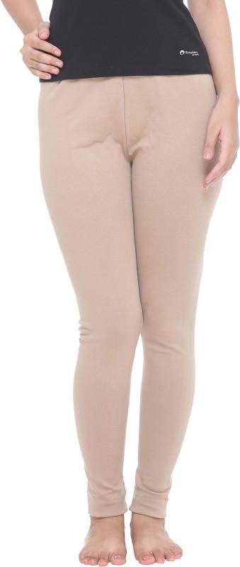 Colors & Blends Legging(Beige, Solid)
