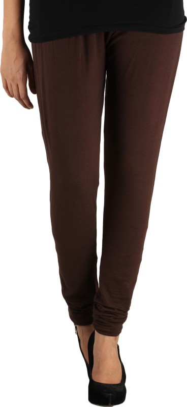 Lady in Red Legging(Brown, Solid)
