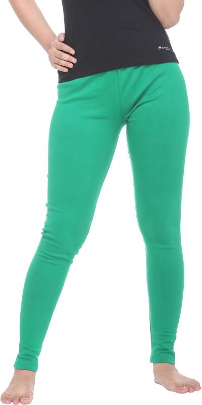 Colors & Blends Legging(Green, Solid)