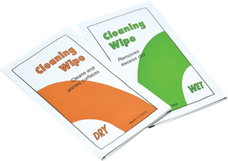 JJC Lens Cleaning Tissue (5 pcs Dry + 5 Pcs Wet) Lens Cleaner(NA ml, 4.7 x 7.9 inch, Pack of 10)