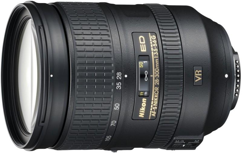 Nikon AF-S NIKKOR 28 - 300 mm f/3.5-5.6G ED VR Lens(Black, 70 - 300)