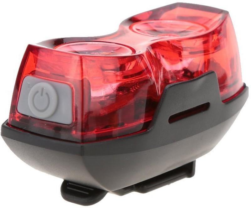 Dark Horse Imported Bicycle 1 Watt 3 Mode Twin Eye Battery Rear Light LED Rear Break Light(Red)