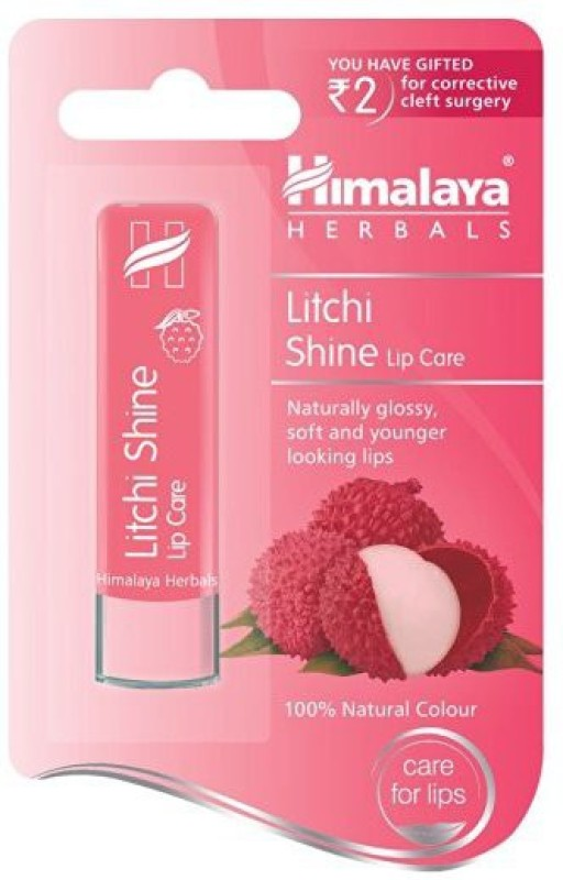 Himalaya Herbals Litchi Shine Lip Care Litchi Shine(Pack of: 1, 4.5 g)