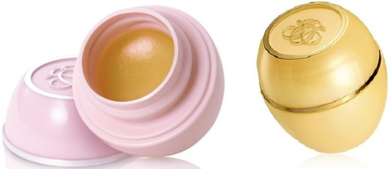 Oriflame Sweden lip balm combo ori79 natural, vanilla(Pack of: 2, 26 g)