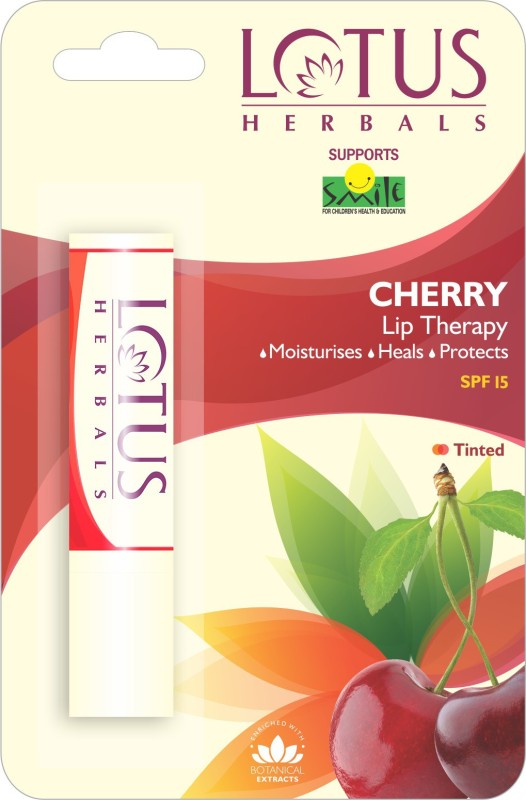 Lotus Lip Therapy Cherry, Cherry(Pack of: 1, 4 g)