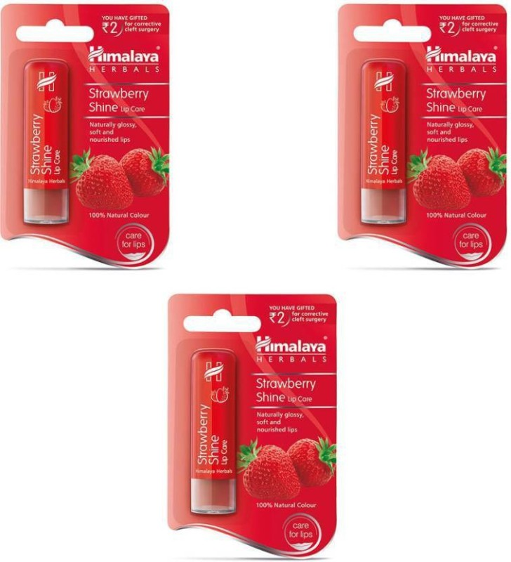 Himalaya M454503 strawberry shine (Set of 3)(Pack of: 3, 4.5 g)