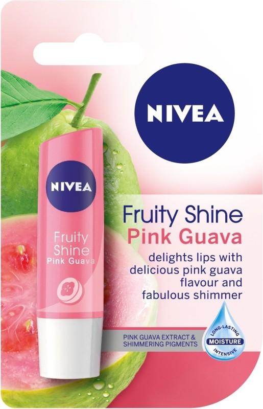 Nivea Fruity Shine Pink Guava(4.8 g)