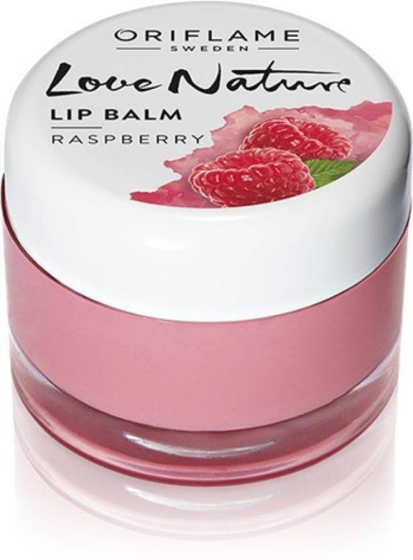 Oriflame Sweden nature lip balm raspberry(7 g)
