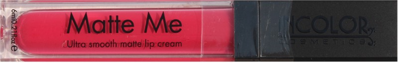 Incolor Matte Me(Brink pink)