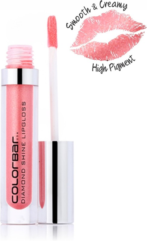 Colorbar Diamond Shine Lipgloss(3.8 ml, Irish Pink-003)