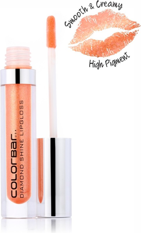 Colorbar Diamond Shine Lipgloss(3.8 ml, Nude Coral-006)