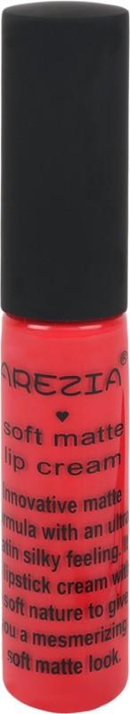 Arezia Soft Matte Lip cream(6.5 g, Vivid Red)