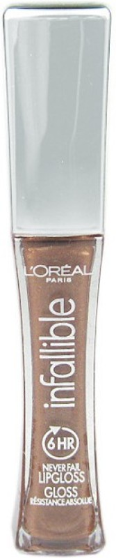 LOreal Paris Infallible Gloss(6.3 ml, Macchiato- 865)
