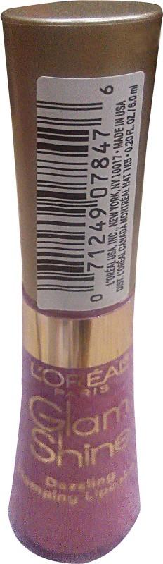 L'Oreal Paris Glam Shine Lip Gloss(6 ml, Starlet-710) Glam Shine Lip Gloss