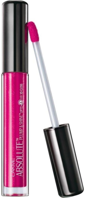 Lakme Absolute Plump & Shine 3D LipGloss(3 ml, Candy Shine)