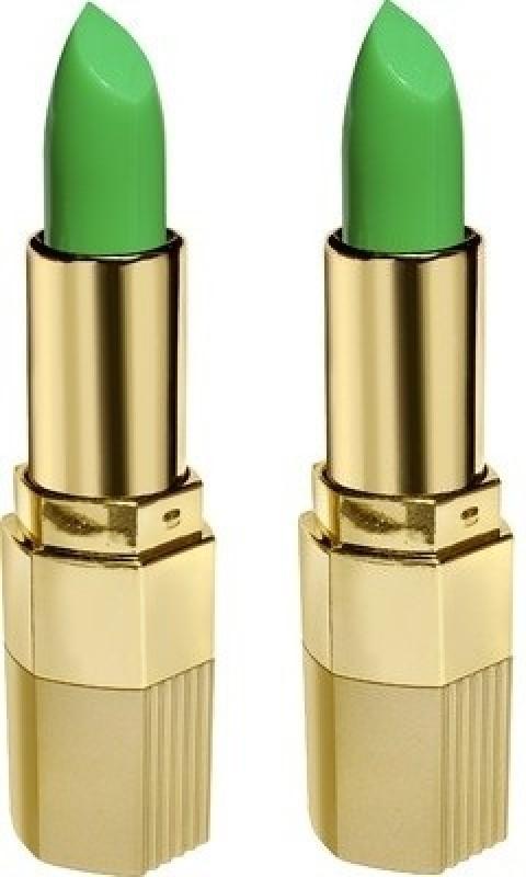 Blue Heaven Xpression Lipstick( Set of 2 pc )(Green Natural-101, 4 g)