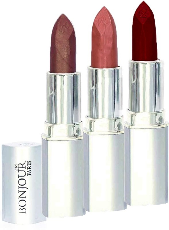 Bonjour Professional 0317 Coffee Nude Dark Red Lipstick(Dark Red, Coffee, Nude, 11.4 g)