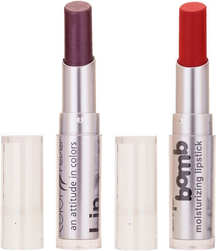 Color Fever Hot Creamy Matte Girls Lipstick 46(wine Shine, Brick Red, 6.4 g)