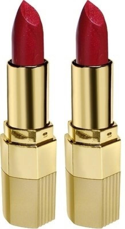 Blue Heaven Xpression Lipstick( Set of 2 pc )(Sparkling Cherry-8, 4 g)
