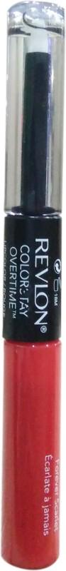 Revlon Colorsatay Overtime Lip Color(FOREVER SCARLET, 2 ml)