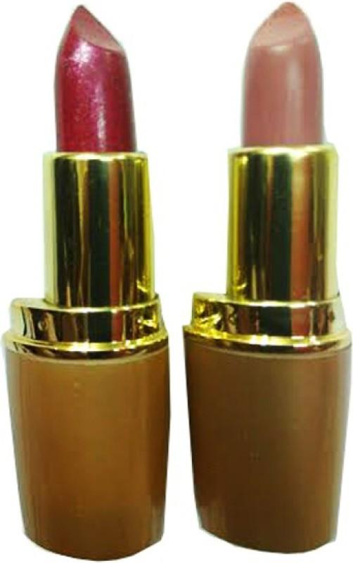 Rythmx Golden Hot Lipstick 5(Rose Blush, Cardinal, 8 g)