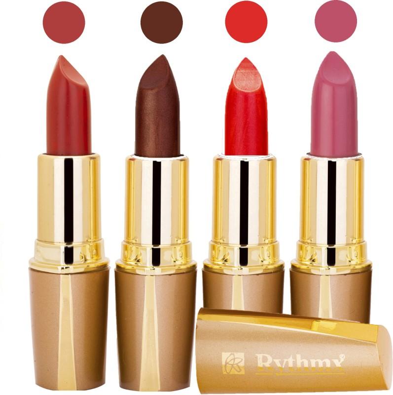 Rythmx New Intense Dark Red Color Lipstick 308121(Red, Brown, Coffee, Pink, Maroon, Red, Purple, Orange, 16 g)