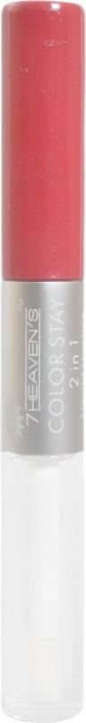 7 Heaven's Color Stay 2 In 1 Waterproof Liquid Lipstick(Rusty Rose-16, 9 g)