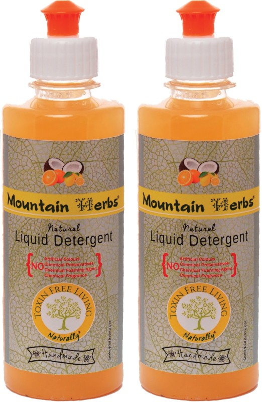 MOUNTAIN HERBS NATURAL LAUNDRY WASH CITRUS Liquid Detergent(600 ml)