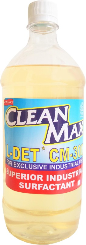 Cleanmax CM-300 1L CONCENTRATED MULTIPURPOSE CLEANER FOR FLOORS, DISHWASH, CARWASH, TOILETS, KITCHEN None Liquid Detergent(1 L)