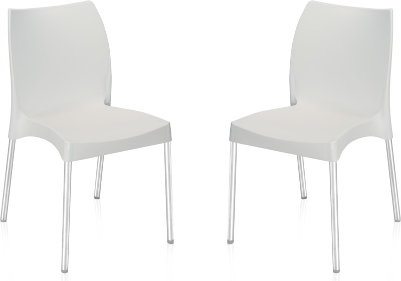 Nilkamal Plastic Living Room Chair(Finish Color - White)