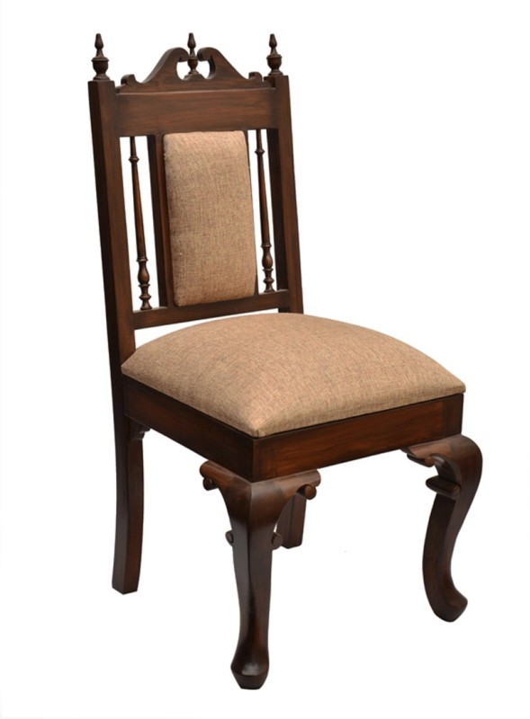 ExclusiveLane Teak Wood Solid Wood Living Room Chair(Finish Color - Walnut Brown)