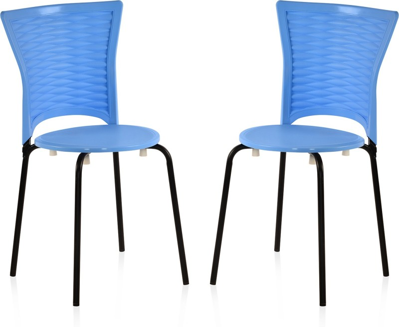 Nilkamal Plastic Living Room Chair(Finish Color - Blue)