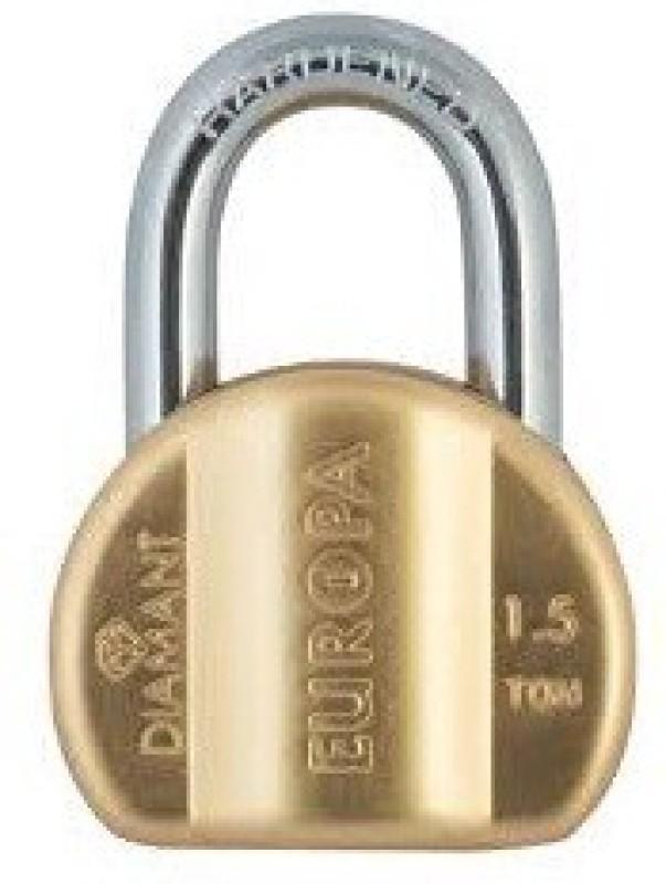 Europa Diamante Pad L358 Bm Padlock(Gold)