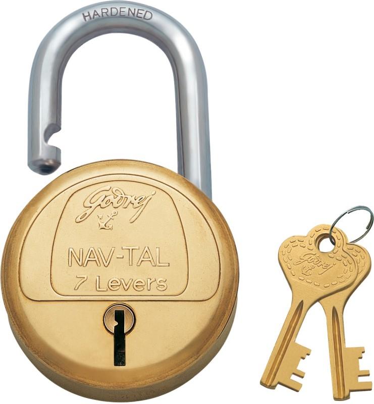 Godrej Navtal 7 Lever Lock(Gold)