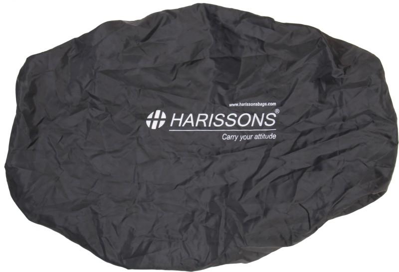 Harissons Rain Cover Rain Cover DX Luggage Cover(Medium, Black)