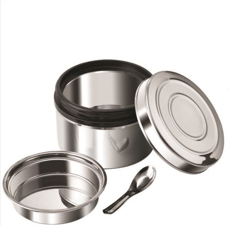 Nano Nine Local Byte Stainless Steel Insu-single, Medium 1 Containers Lunch Box(450 ml)