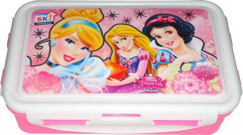 SKI Disney Princes 2 Containers Lunch Box(800 ml)