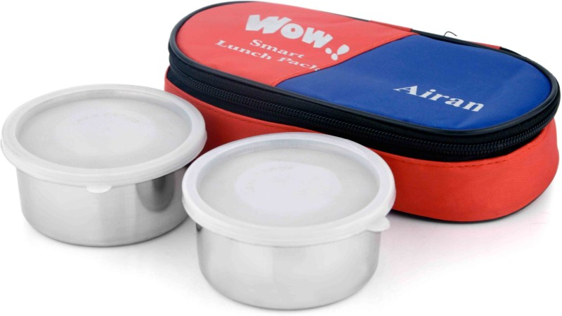 Airan 1501 2 Containers Lunch Box(400 ml)