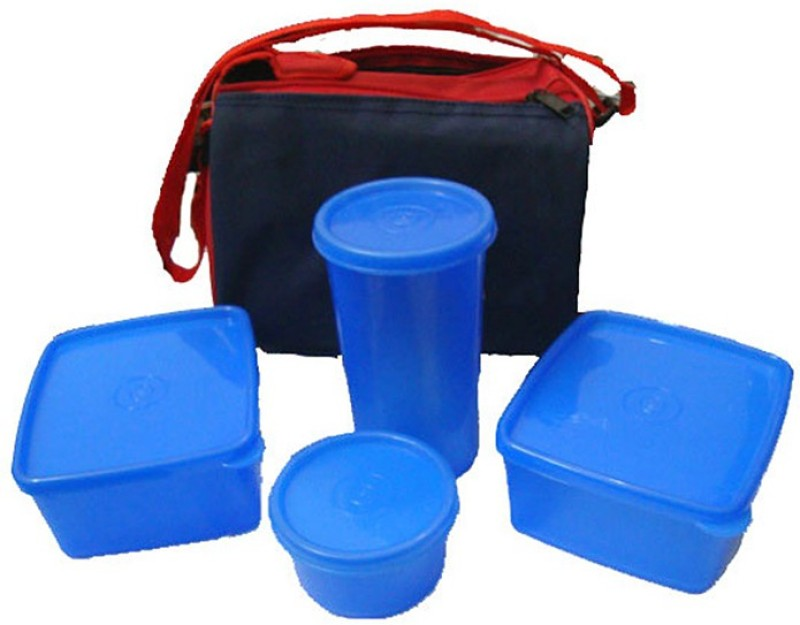Topware Topware Plan Blue 4 Containers Lunch Box(800 ml)