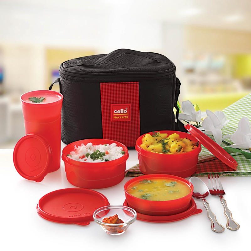 Cello CTL2041 4 Containers Lunch Box(1325 ml)