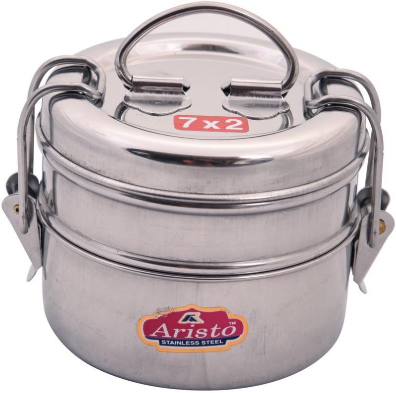 Aristo Tiffin 7X2 2 Containers Lunch Box(400 ml)