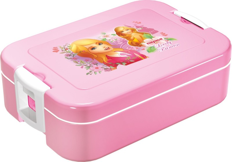 Nayasa Nutri Super Pink 1 Containers Lunch Box(850 ml)