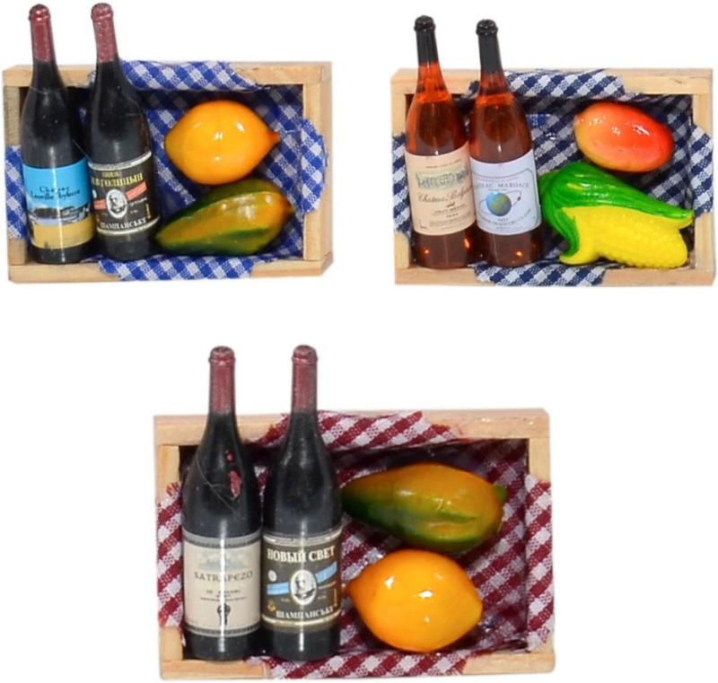 Cortina Fruit-FM-SO3-006 Fridge Magnet(Pack of 3, Multicolor)