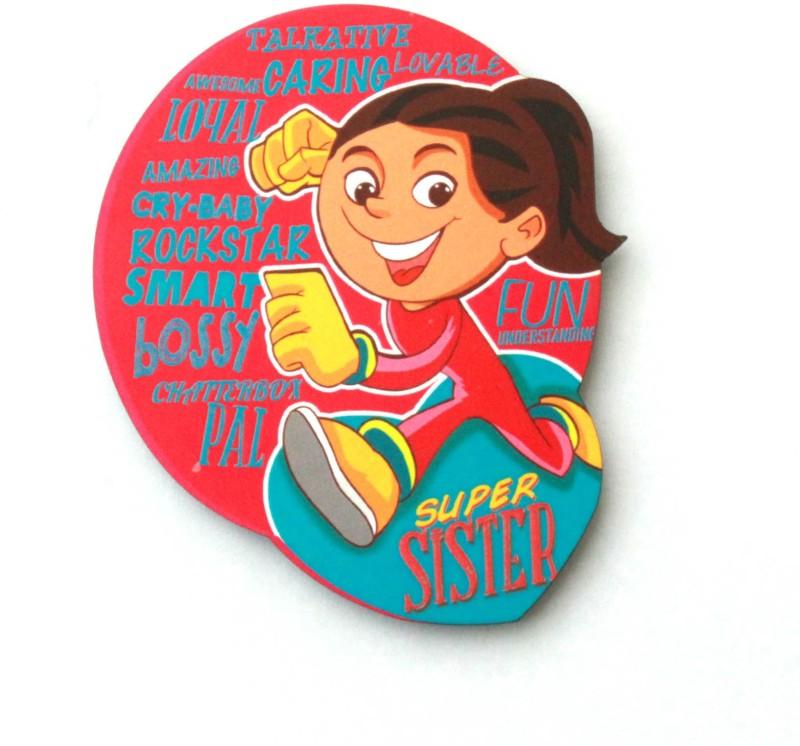 Homeblendz SIS-MAG Fridge Magnet(Pack of 1, Multicolor)