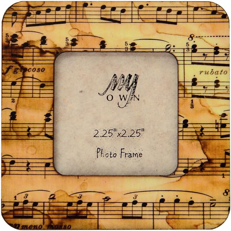 My Own Musical Fridge Magnet Pack of 1(Brown)