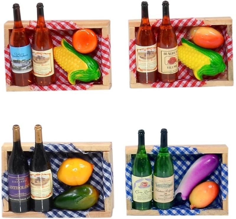 Cortina Fruit-FM-SO4-006 Fridge Magnet(Pack of 4, Multicolor)