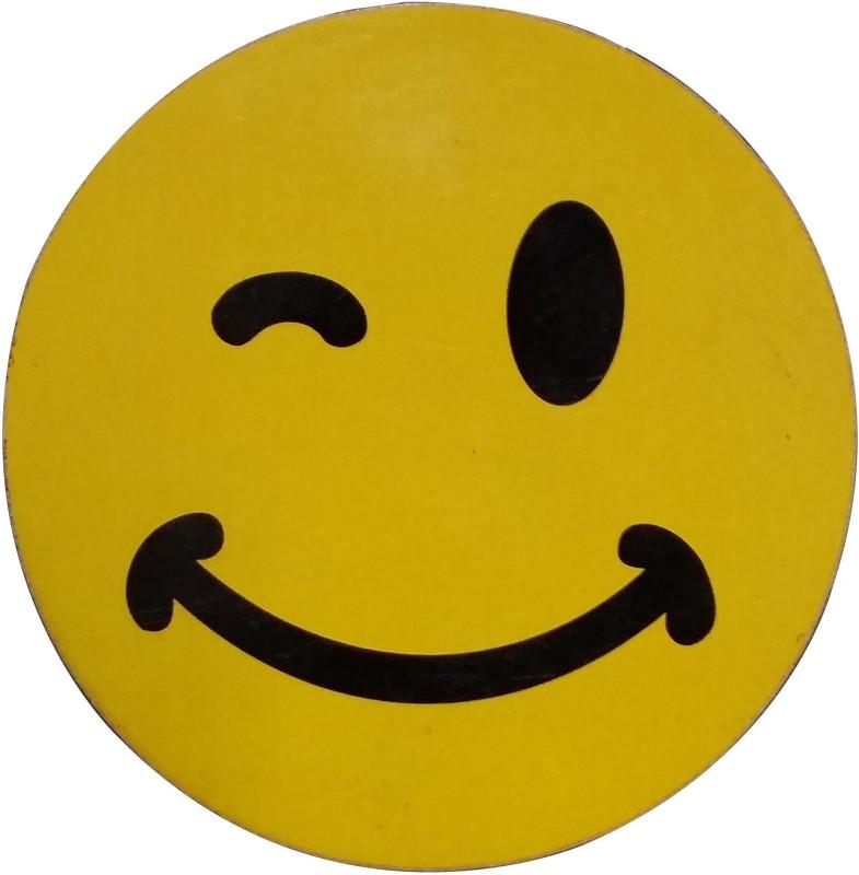 Fabionic Winking Eye Emoji Fridge Magnet Pack of 1