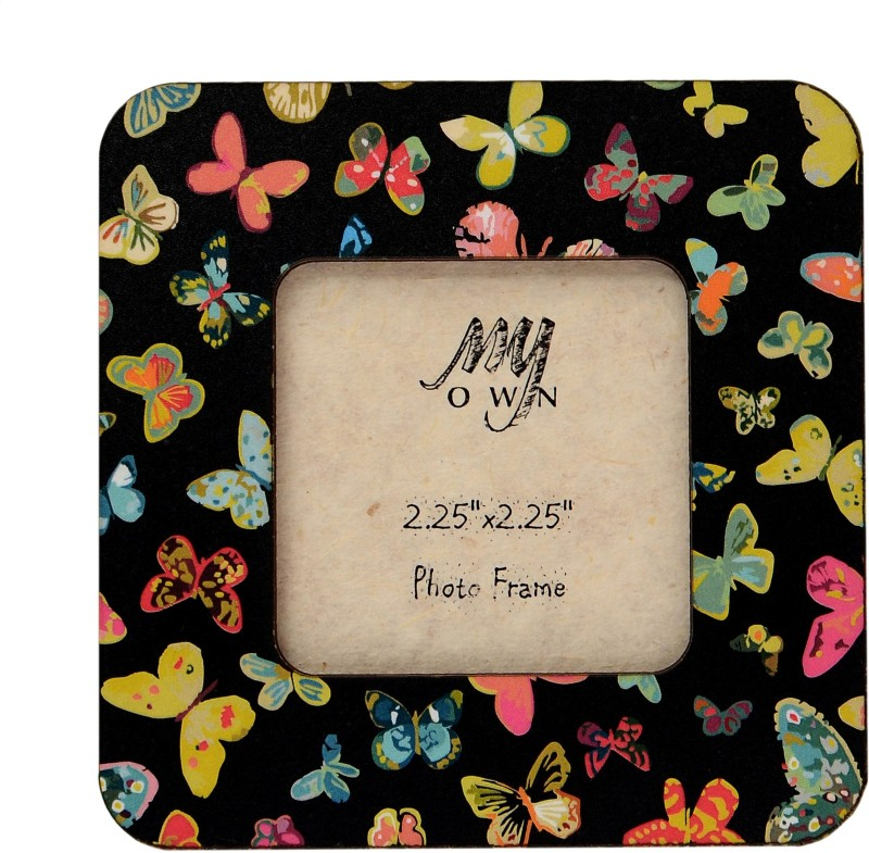 My Own Butterflies Fridge Magnet Pack of 1(Black)
